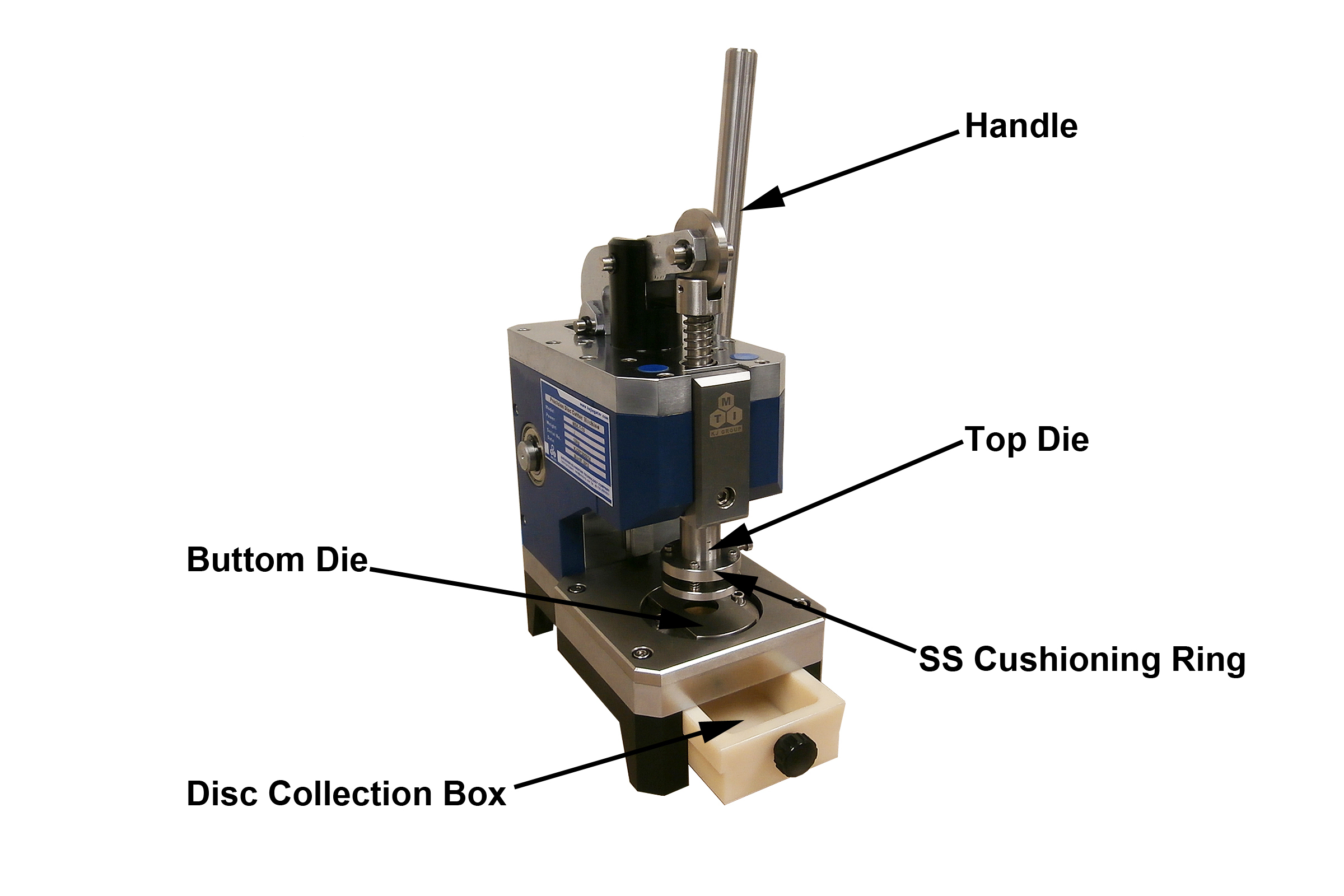 Precision Disc Cutter with Standard 16, 19, and 20mm