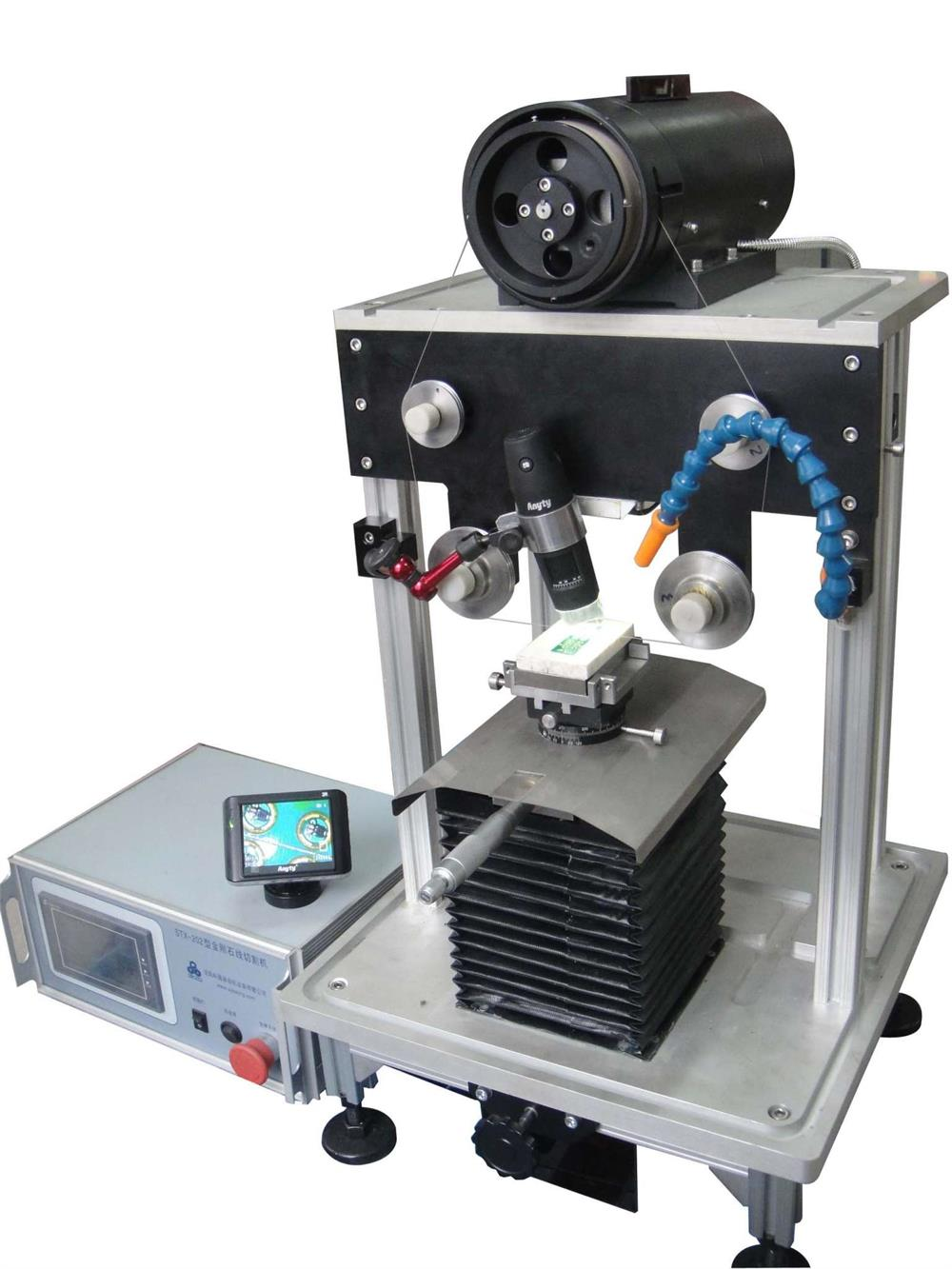 Microscope Assist Diamond Wire Saw With Touch Screen Control and ...