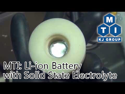 Solid Electrolyte For Li Ion Battery