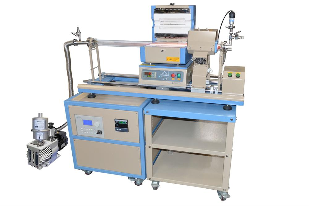 Compact Pecvd Slidable Tube Furnace With 2 Quot Od Quartz Tube