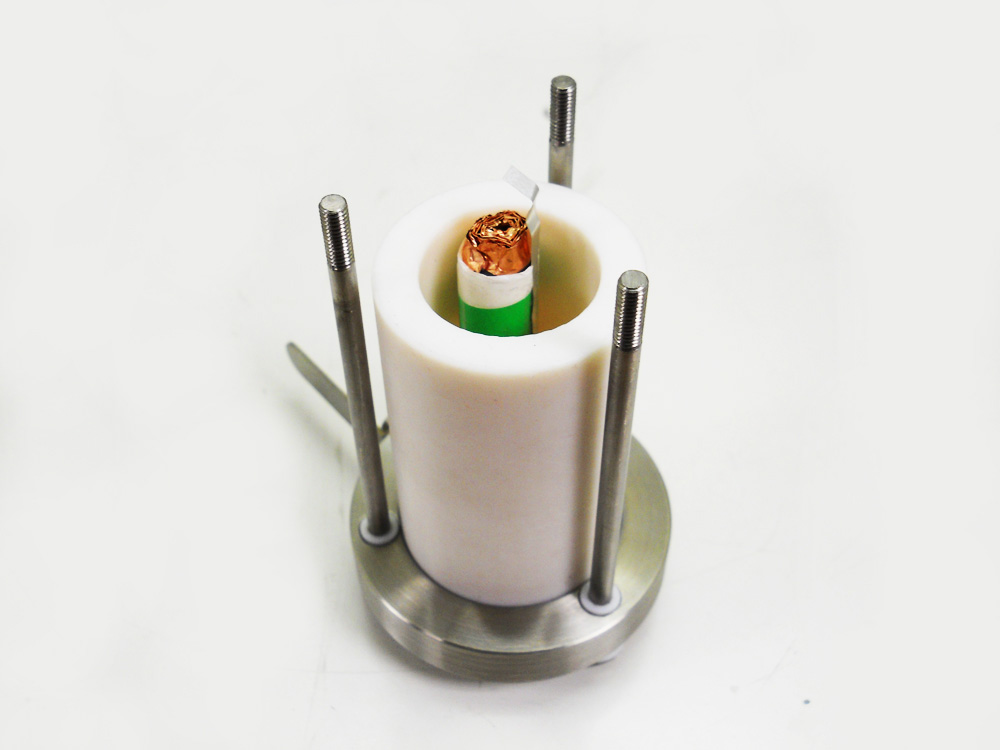 Split Type Swagelok Cell For 18650 Cylindrical Cell Eq