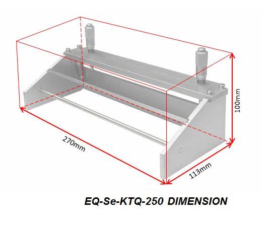 Micrometer Adjustable Film Applicator - 250 mm (film casting