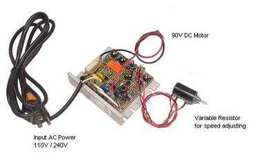 Dc Motor Controller Kb Electronic Speed Controller Kit For 90v Dc Motor