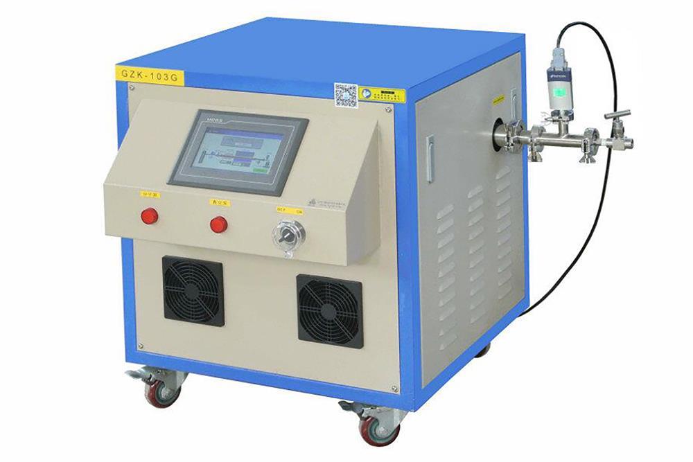 Precision vacuum pressure regulating system with turbo