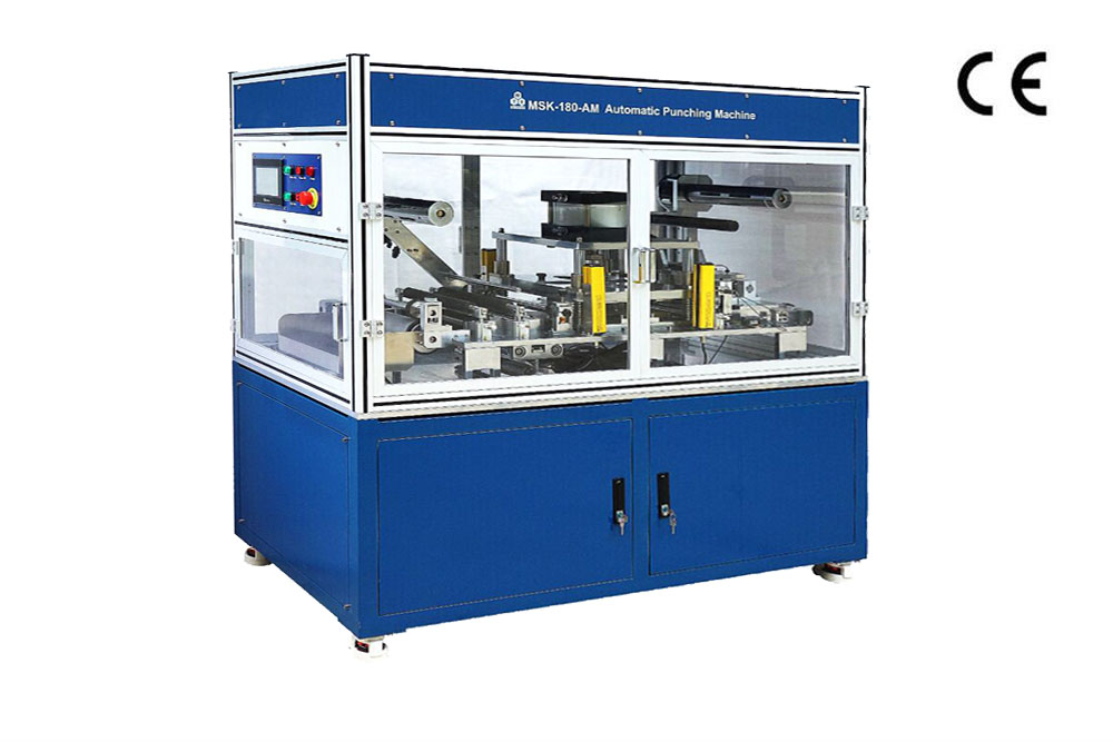 Automatic Precision Die Cutter For Pouch Cell Electrodes