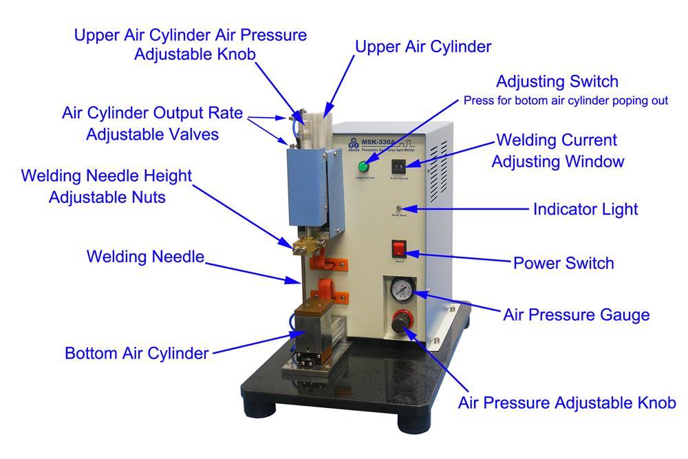 precise pneumatic point welding machine for professional li on rh mtixtl com Spot Welding Cooling Diagram Welding Machine Parts List