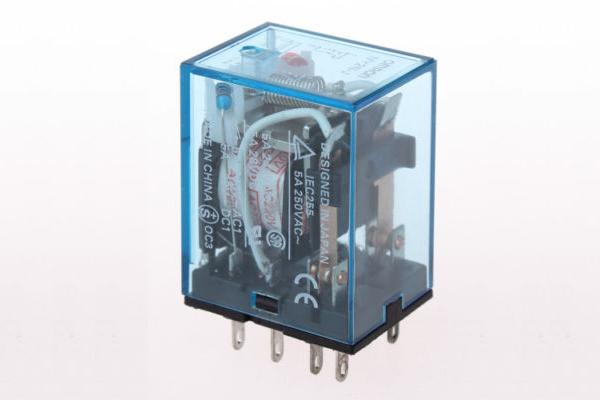 Omron Pluggable Power Relay 24v Dc Mti My2n J