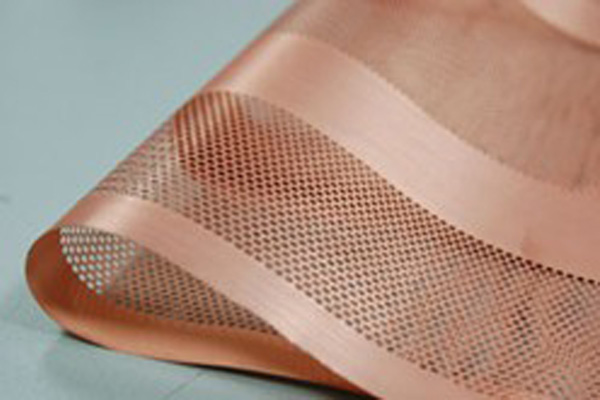 Copper Mesh Foil For Battery Anode Substrate 280mm Width