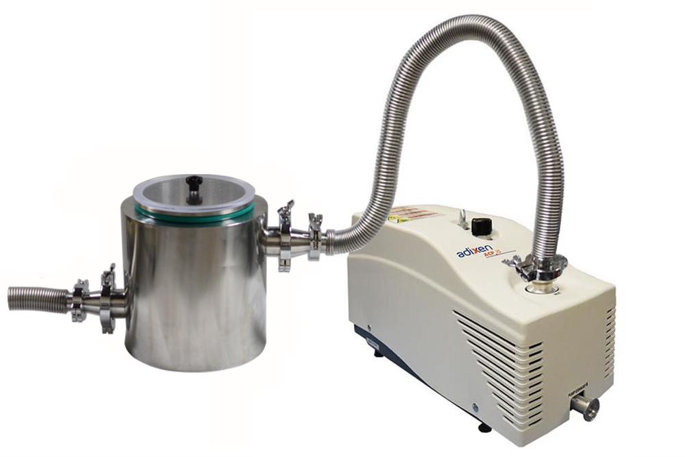 Pfeiffer S High Speed 226l Min Oilless Dry Vacuum Pump