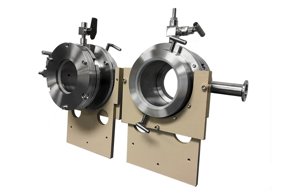 Dual Tube Water Cooling Flange for 4