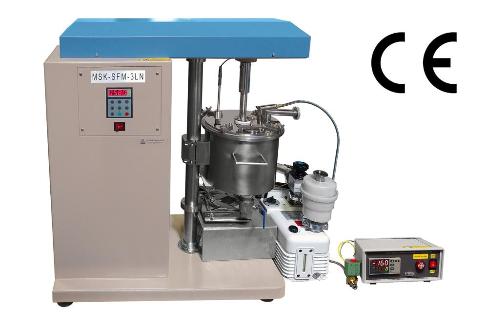 Liquid Nitrogen Cryogenic Cold Rotot Mill With 3 Liter