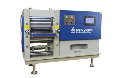 300mm Width Pressure Controllable Electric Rolling Machine