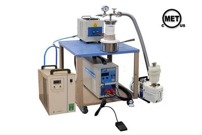 15kw Small Vacuum Induction Melting System With 60mm