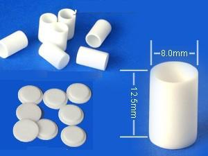Details about  /New 10pcs  5*5mm  99/% alumina thermal analysis crucible with lid