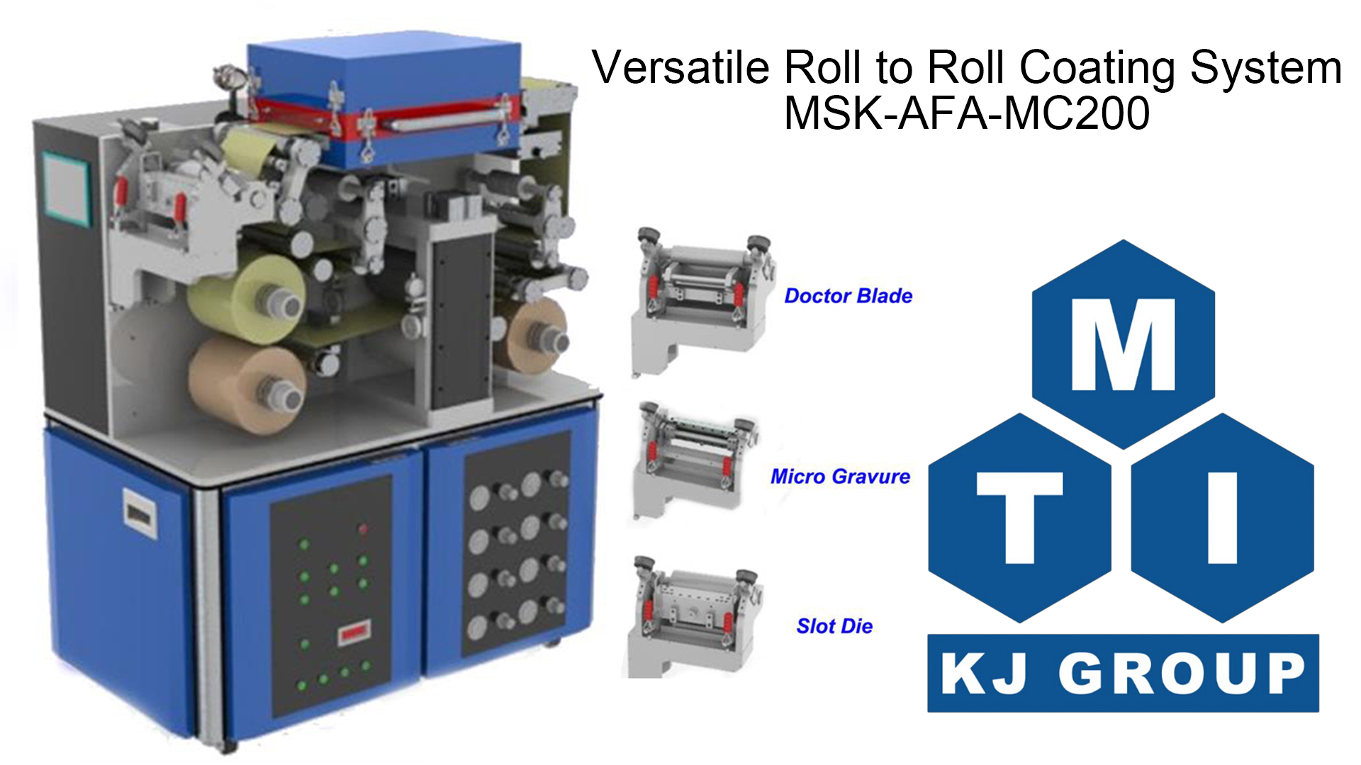 Roll to Roll Slot-Die Coating System ( Max  250mm W & 1
