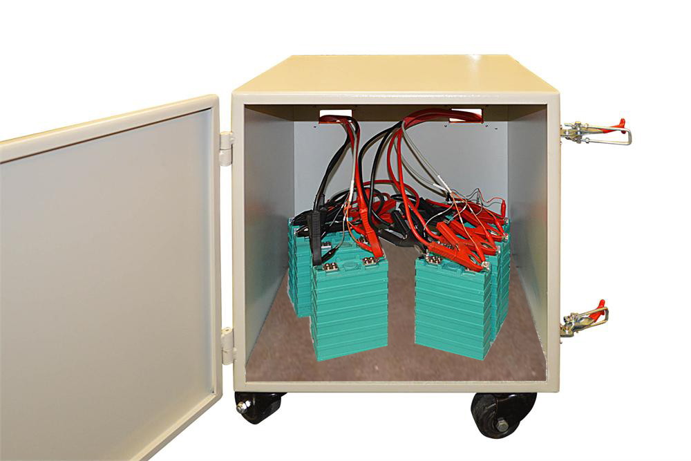 Explosion-Proof Box for Battery Over-Charging & Forced