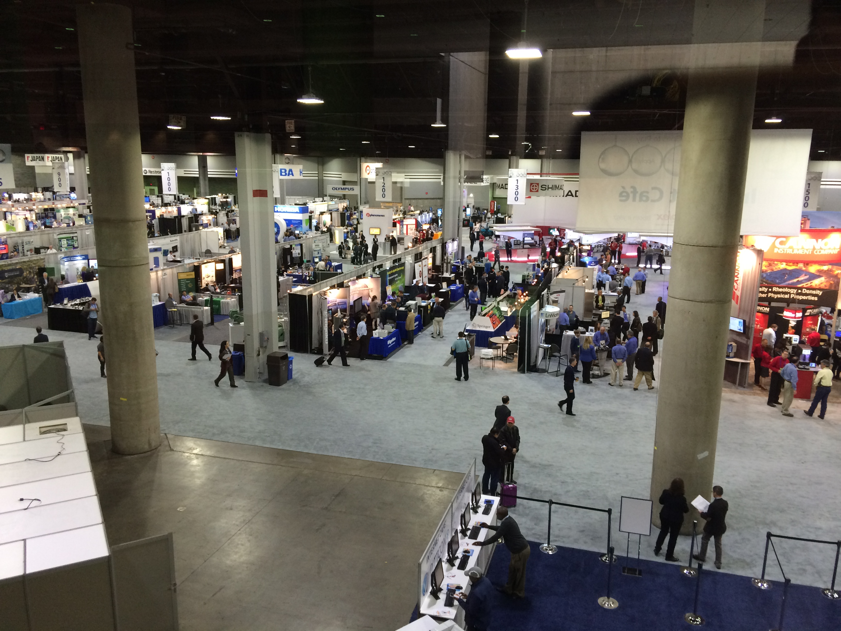 Pittcon Show Site