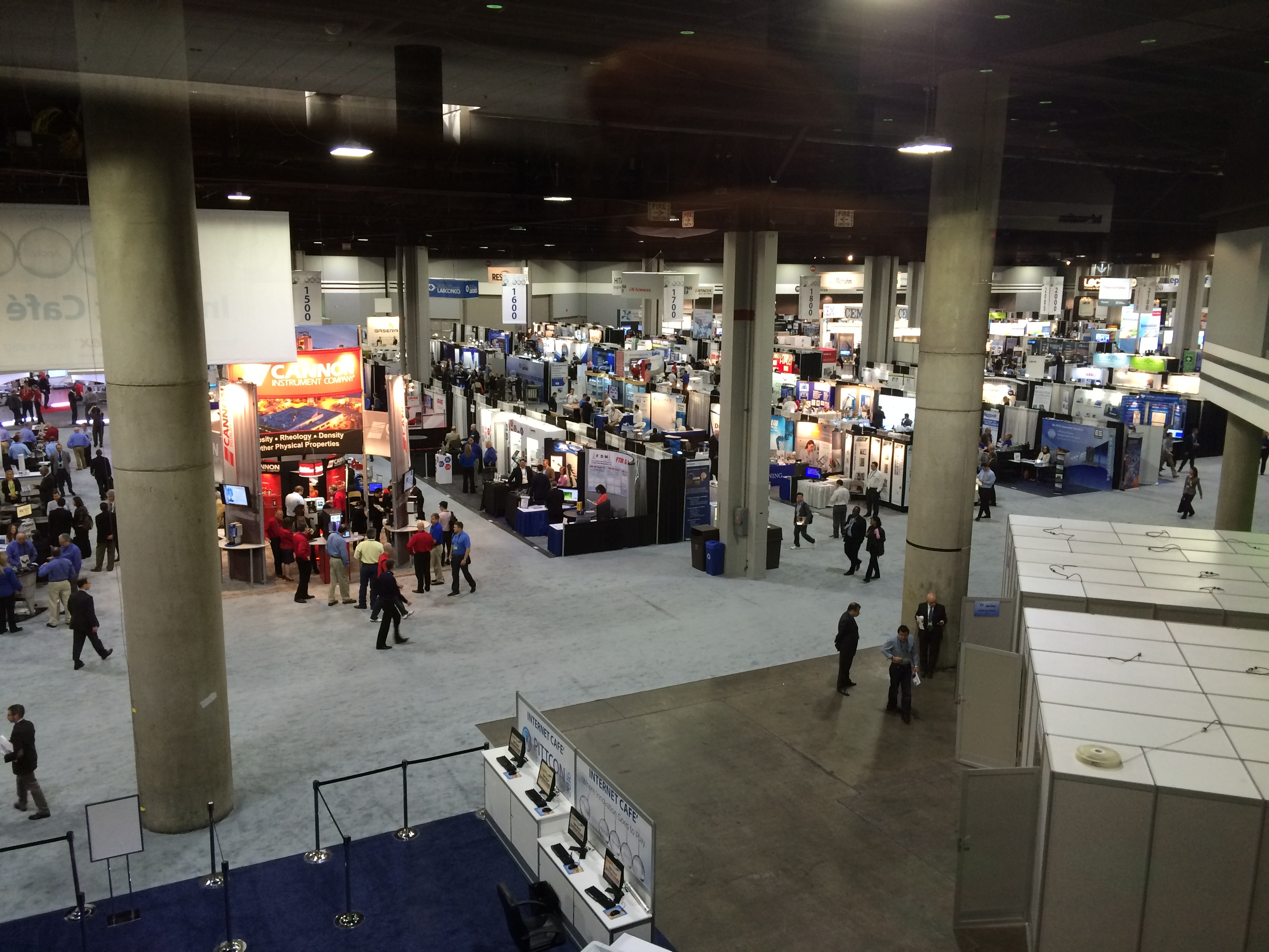 Pittcon Exhibition Show Site