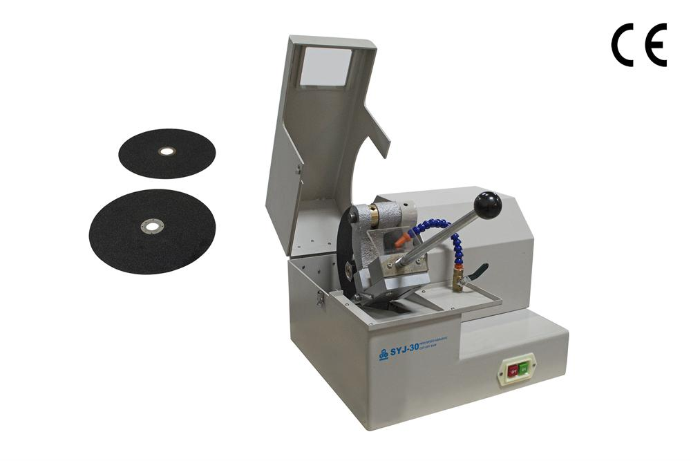 Heavy Duty High Speed Abrasive Cut Off Saw With Two 10 Quot Sic Cutting Blades Syj 30
