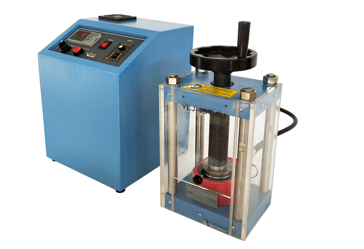 40T Lab Press with Programmable Electric Hydraulic Pump
