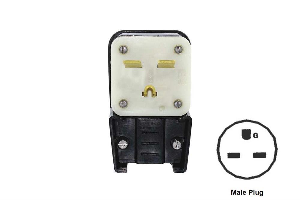 EQPlugSTR25030A  Phase Wiring Plug on 3 phase electrical plug, 3 phase plug socket, 3 phase power, 3 phase electrical panel, 30 amp twist lock wiring, 3 phase motor, 3 phase electrical outlet, 3 wire 240v wiring, 3 phase cord plug, 3 phase twist lock plugs, 3 phase diagram, 3 phase plugs and outlets, 3 phase plug parts,