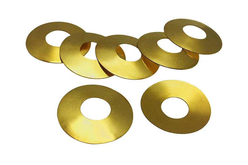 Gold Plated 304 Stainless Steel Spring (Belleville Washers