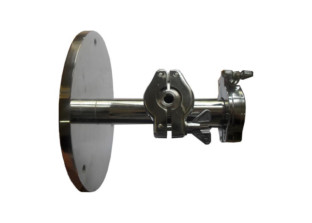 KF-D25 High Vacuum Flange for 4'' Diam  Tube of RTP
