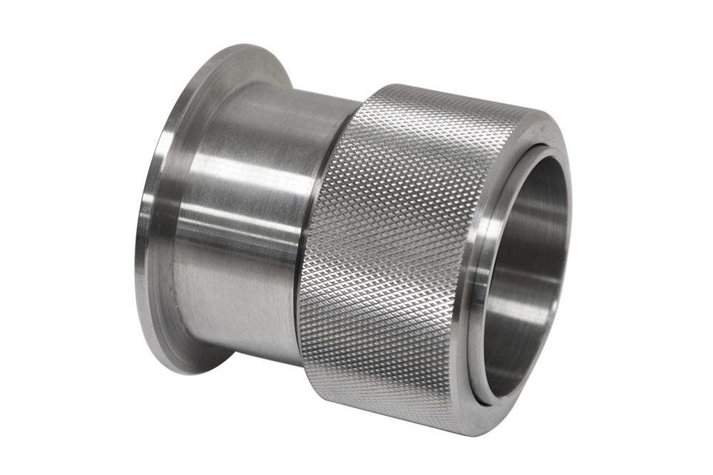 Single-side Quick Clamp Hi-Vacuum Flange for 25mm O D