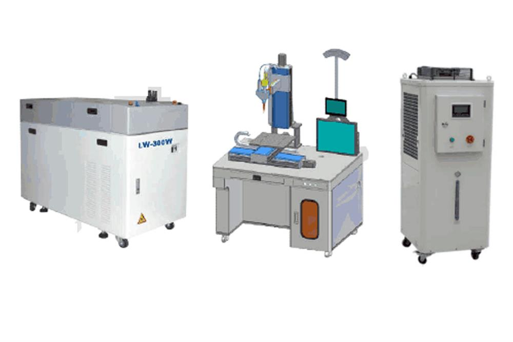 300w Laser Welding System For Prismatic And Cylindrical