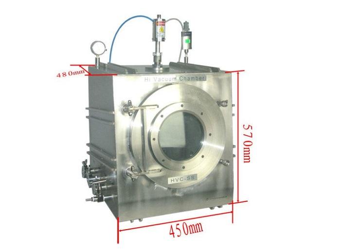 High Vacuum Chamber For DIY RF & DC