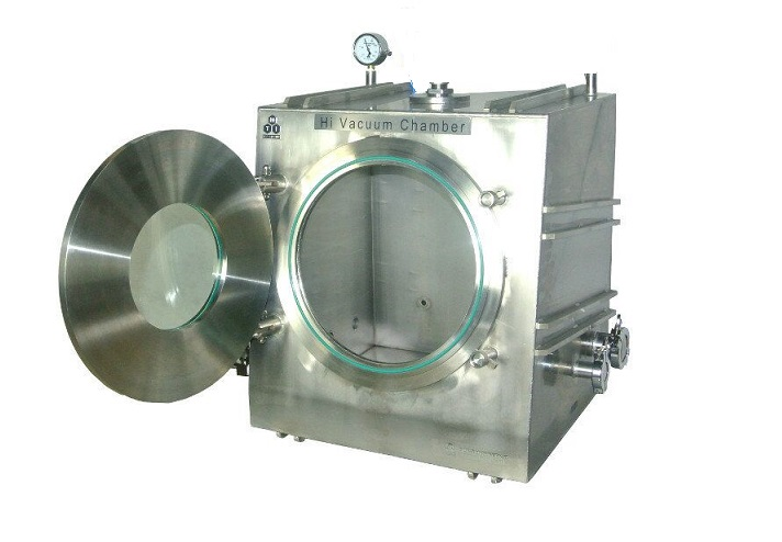 High Vacuum Chamber For DIY RF & DC Sputtering Coater