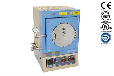 UL-Standard 1100°C 7 6 Liter Hi-Vacuum Chamber Furnace (UL/CSA